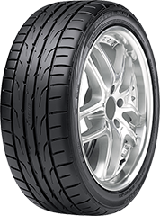 Dunlop Direzza® DZ102 tire image showing tread design