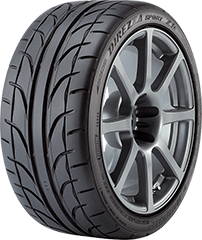 Dunlop Direzza® Sport Z1 STAR SPEC tire image showing tread design