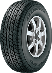 Dunlop Grandtrek® AT21™ tire image showing tread design