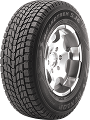 Dunlop Grandtrek® SJ6™ tire image showing tread design