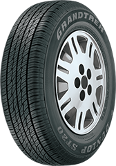 Dunlop Grandtrek® ST20™ tire image showing tread design
