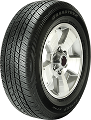 Dunlop Grandtrek® ST30™ tire image showing tread design