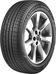 Dunlop Grandtrek® Touring A/S tire image showing tread design