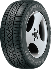 Dunlop Grandtrek® WT M3™ DSST® ROF™ tire image showing tread design