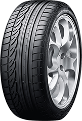 Dunlop SP Sport® 01 DSST® ROF tire image showing tread design