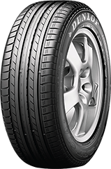 Dunlop SP Sport® 01 A/S™ DSST® ROF tire image showing tread design
