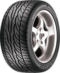 Dunlop SP Sport® 5000M™ DSST® CTT™ tire image showing tread design