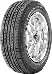 Dunlop SP Sport® 7000 A/S tire image showing tread design