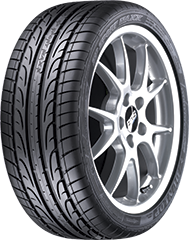 Dunlop SP Sport Maxx® 050 DSST® CTT™ tire image showing tread design