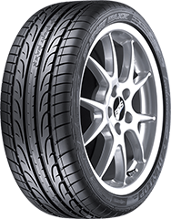 Dunlop SP Sport Maxx® DSST® ROF™  tire image showing tread design