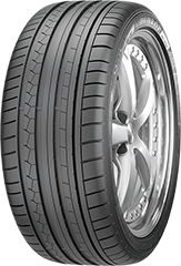 Dunlop SP Sport Maxx® GT  tire image showing tread design