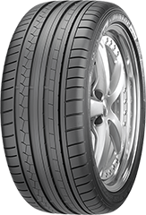 Dunlop SP Sport Maxx® GT ROF™  tire image showing tread design