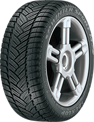 Dunlop SP® Winter Sport M3™ DSST® ROF tire image showing tread design