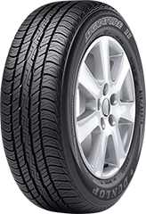 Dunlop Signature II™ tire image showing tread design