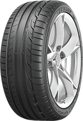 Dunlop Sport Maxx RT™  tire image showing tread design